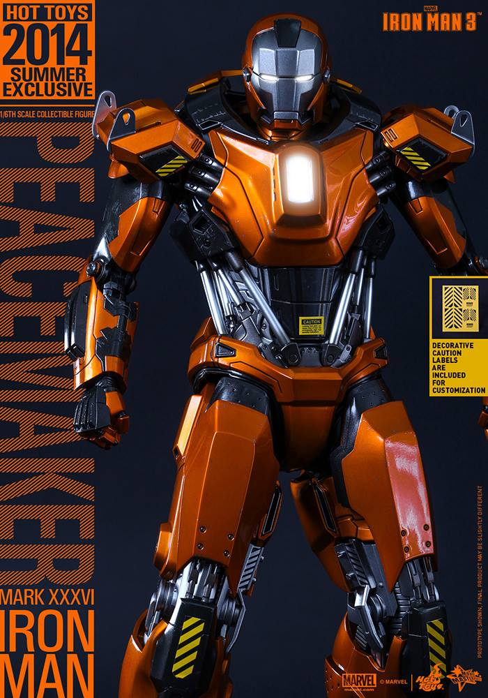 Iron Man Mark 36 Peacemaker Latest Articles...
