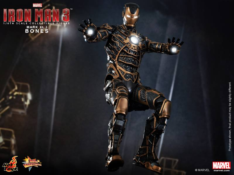 Latest Articles Hot Toys Iron Man 3 Mms 1 6 Bones Mark Xli